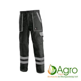 agro-munkaruha-es-mezogazdasagi-bolt-papa-CXS Luxy Bright derekas nadrág, fekete-szürke
