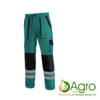 agro-munkaruha-es-mezogazdasagi-bolt-papa-CXS Luxy Bright derekas nadrág, zöld-fekete