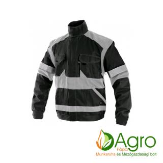 agro-munkaruha-es-mezogazdasagi-bolt-papa-CXS Luxy Bright kabát, fekete-szürke