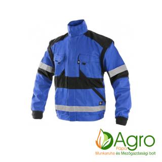 agro-munkaruha-es-mezogazdasagi-bolt-papa-CXS Luxy Bright kabát, kék-fekete