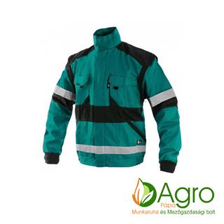 agro-munkaruha-es-mezogazdasagi-bolt-papa-CXS Luxy Bright kabát, zöld-fekete