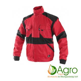 agro-munkaruha-es-mezogazdasagi-bolt-papa-CXS Luxy Diana női kabát, piros-fekete