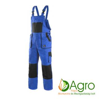 agro-munkaruha-es-mezogazdasagi-bolt-papa-CXS Luxy Martin bélelt kertésznadrág, kék-fekete