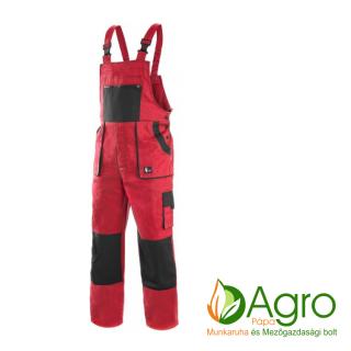 agro-munkaruha-es-mezogazdasagi-bolt-papa-CXS Luxy Sabina női kertésznadrág, piros-fekete