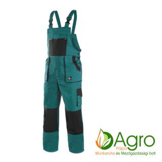 agro-munkaruha-es-mezogazdasagi-bolt-papa-CXS Luxy Sabina női kertésznadrág, zöld-fekete