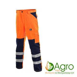 agro-munkaruha-es-mezogazdasagi-bolt-papa-CXS Norwich derekas nadrág, narancssárga-kék