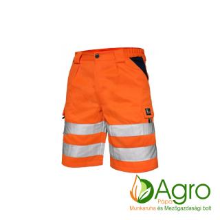 agro-munkaruha-es-mezogazdasagi-bolt-papa-CXS Norwich jól láthatósági rövidnadrág, narancssárga-kék