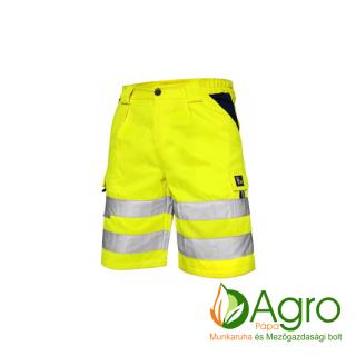 agro-munkaruha-es-mezogazdasagi-bolt-papa-CXS Norwich jól láthatósági rövidnadrág, sárga-kék
