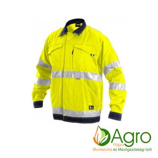 agro-munkaruha-es-mezogazdasagi-bolt-papa-CXS Norwich kabát, sárga-kék
