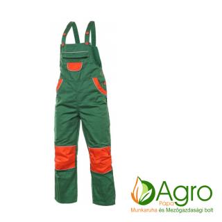 agro-munkaruha-es-mezogazdasagi-bolt-papa-CXS Pinocchio gyerek kertésznadrág, zöld-narancs