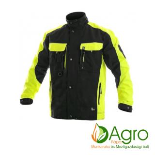 agro-munkaruha-es-mezogazdasagi-bolt-papa-CXS Sirius Brighton kabát, fekete-citrom