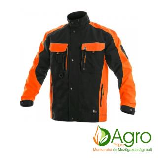 agro-munkaruha-es-mezogazdasagi-bolt-papa-CXS Sirius Brighton kabát, fekete-narancs