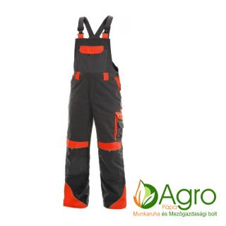 agro-munkaruha-es-mezogazdasagi-bolt-papa-CXS Sirius Brighton kertésznadrág, szürke-piros
