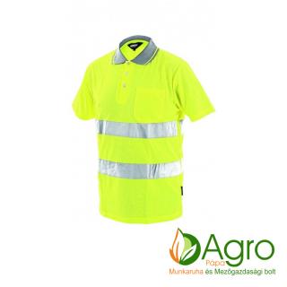 agro-munkaruha-es-mezogazdasagi-bolt-papa-Dover jól láthatósági galléros póló, sárga