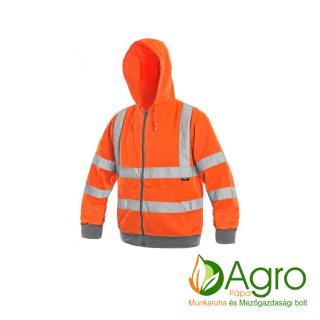 agro-munkaruha-es-mezogazdasagi-bolt-papa-Frome jól láthatósági pulóver, narancssárga