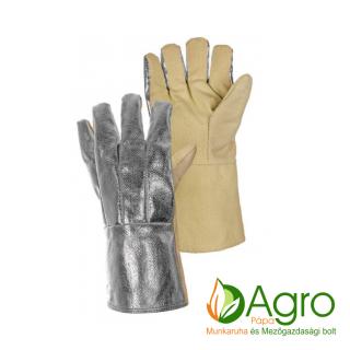 agro-munkaruha-es-mezogazdasagi-bolt-papa-Vega 5 DM hőálló kesztyű, sárga-ezüst
